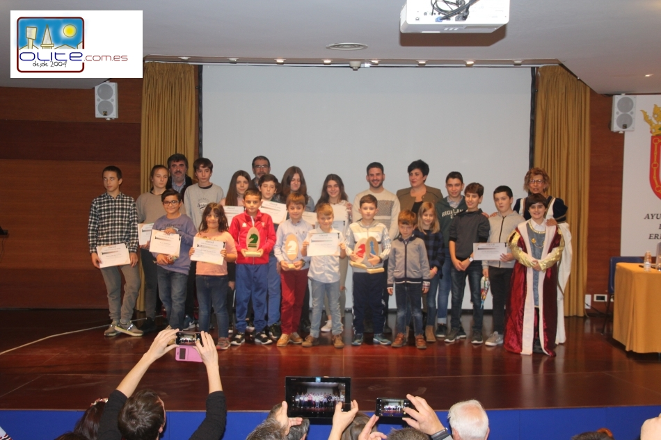 Olite.Entrega de premios y I  Torneo Open por parejas mixtas Olite Chess 2018