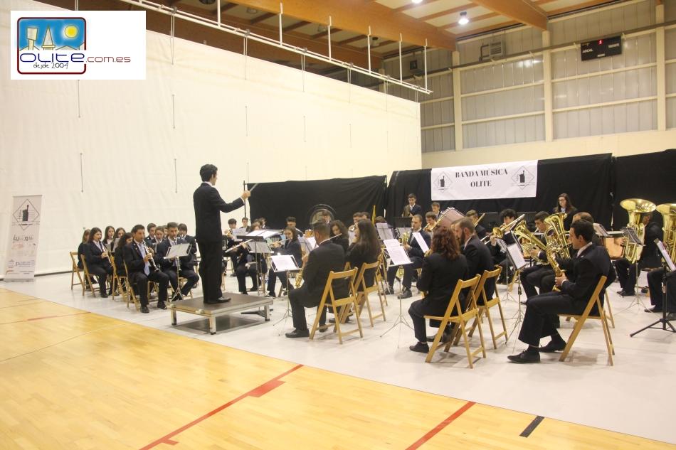 Olite.La Banda de Música de Olite, celebra Santa Cecilia