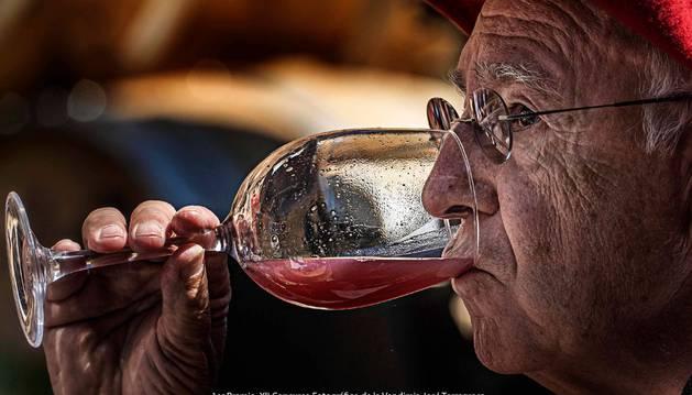 Olite.José Torregrosa gana el Concurso Fotográfico de la Vendimia