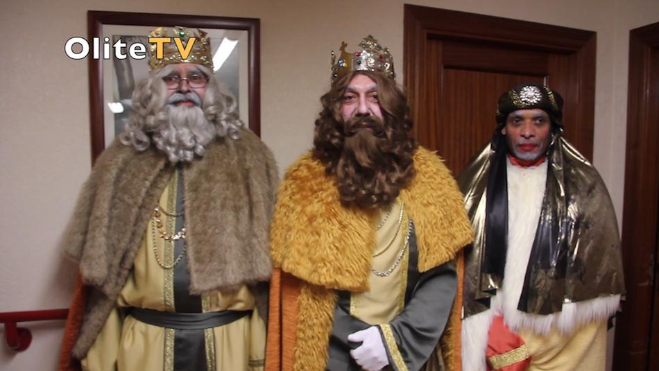 Olite.Los Reyes Magos felicitan a Olite.com.es por su 15 Aniversario