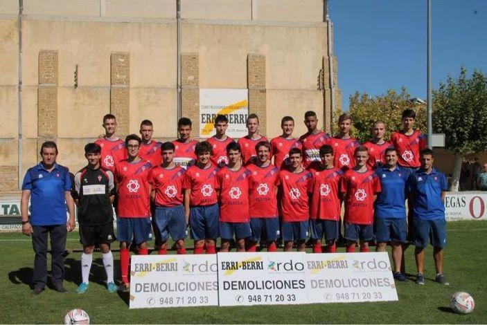Olite.El equipo Juvenil de Erri Berri se juega este sábado meterse en la fase de ascenso.
