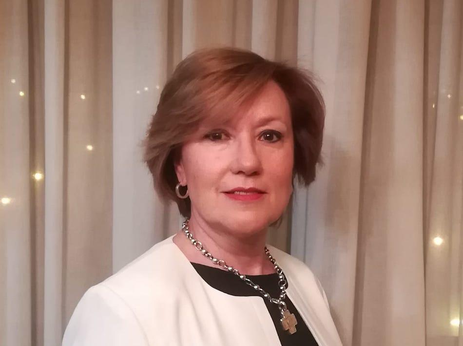 Olite.Josefina Pozo candidata en Olite por el grupo Navarra Suma