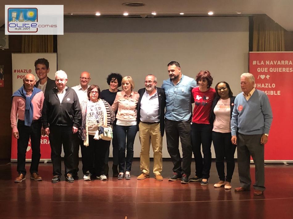 Olite.El PSOE presenta su candidatura al Ayuntamiento de Olite