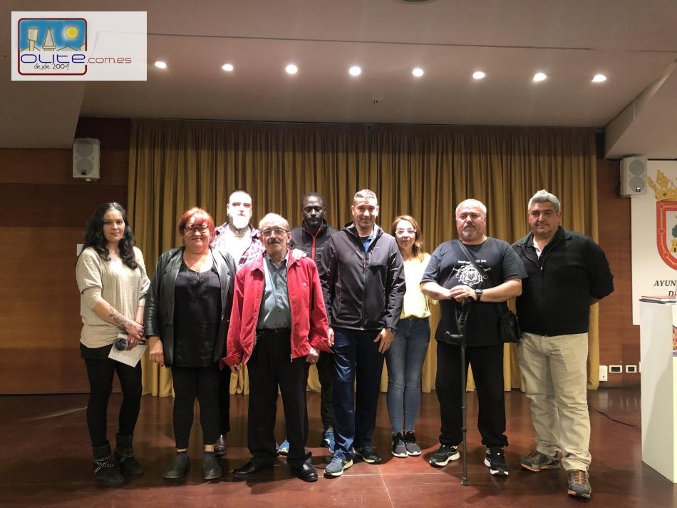 Olite.Antonio Monrabal presentó su candidatura en la Casa de Cultura