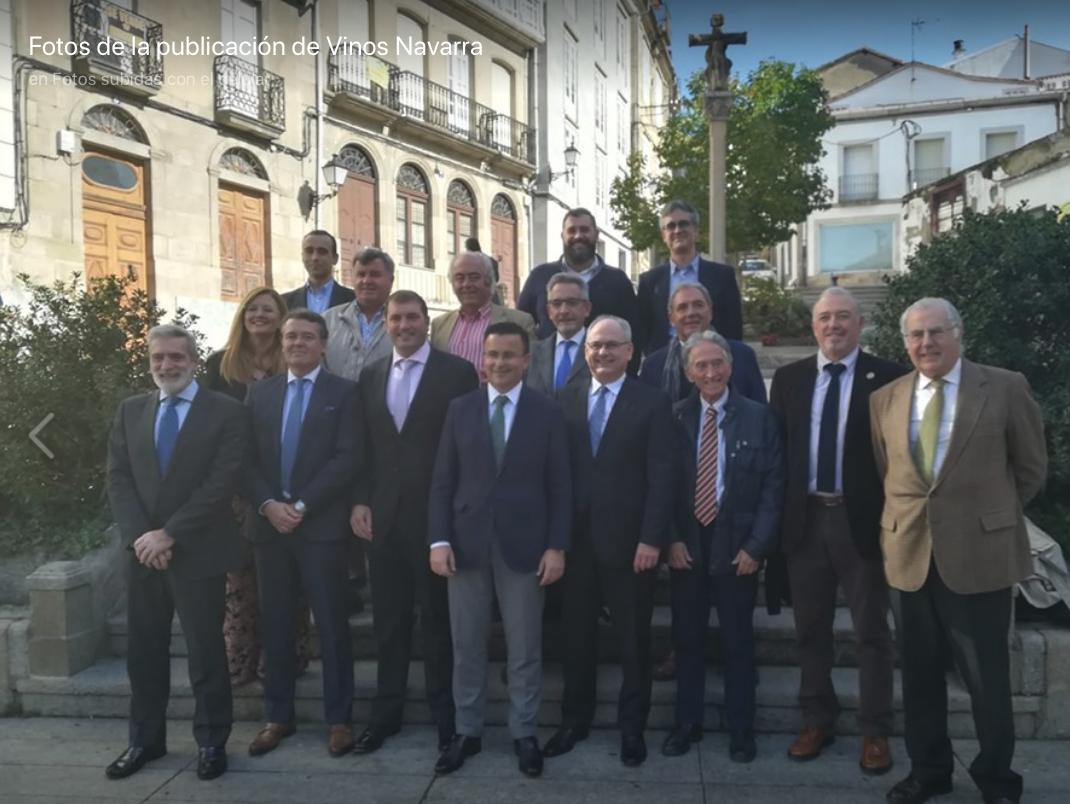Olite.David Palacios ha sido reelegido presidente de la Conferencia Española Consejos Reguladores Vitivinícolas,