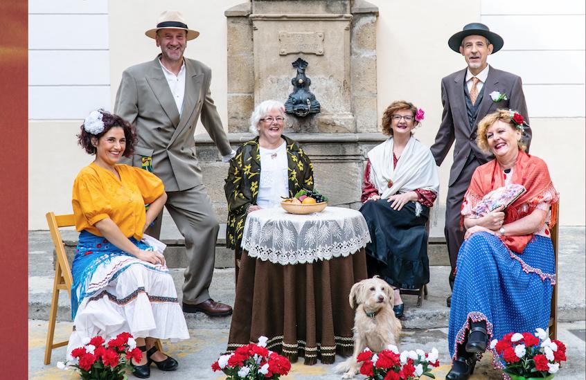 Olite.El grupo de teatro Los Cadalsos celebran estas semanas su X Aniversario