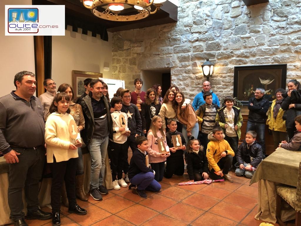 Olite.15 equipos en el Torneo de Ajedrez en el Olite Chess