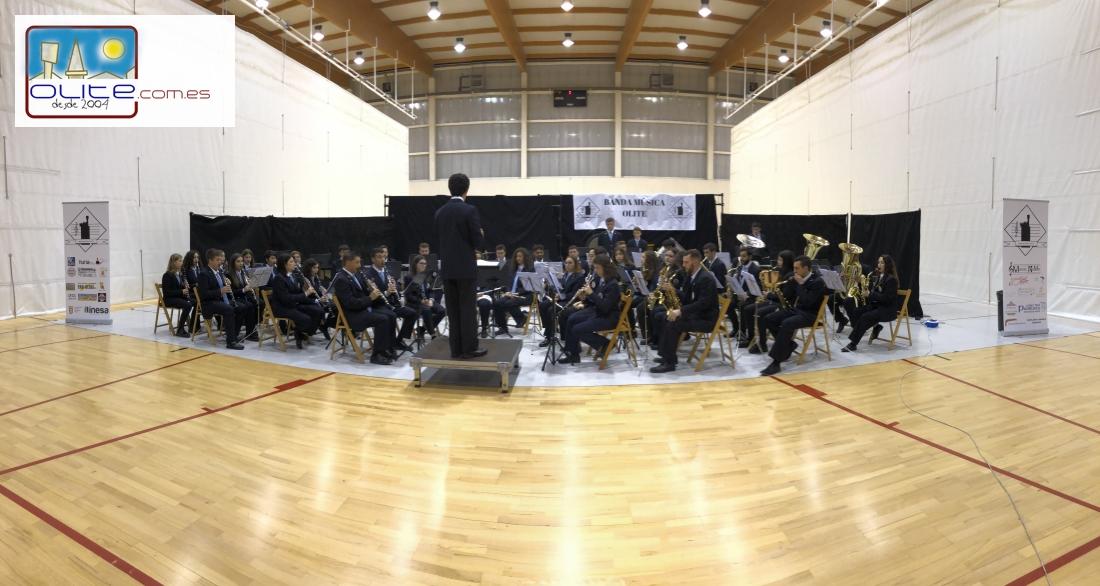 Olite.La Banda de Música de Olite, ofrece el concierto de Santa Cecilia.