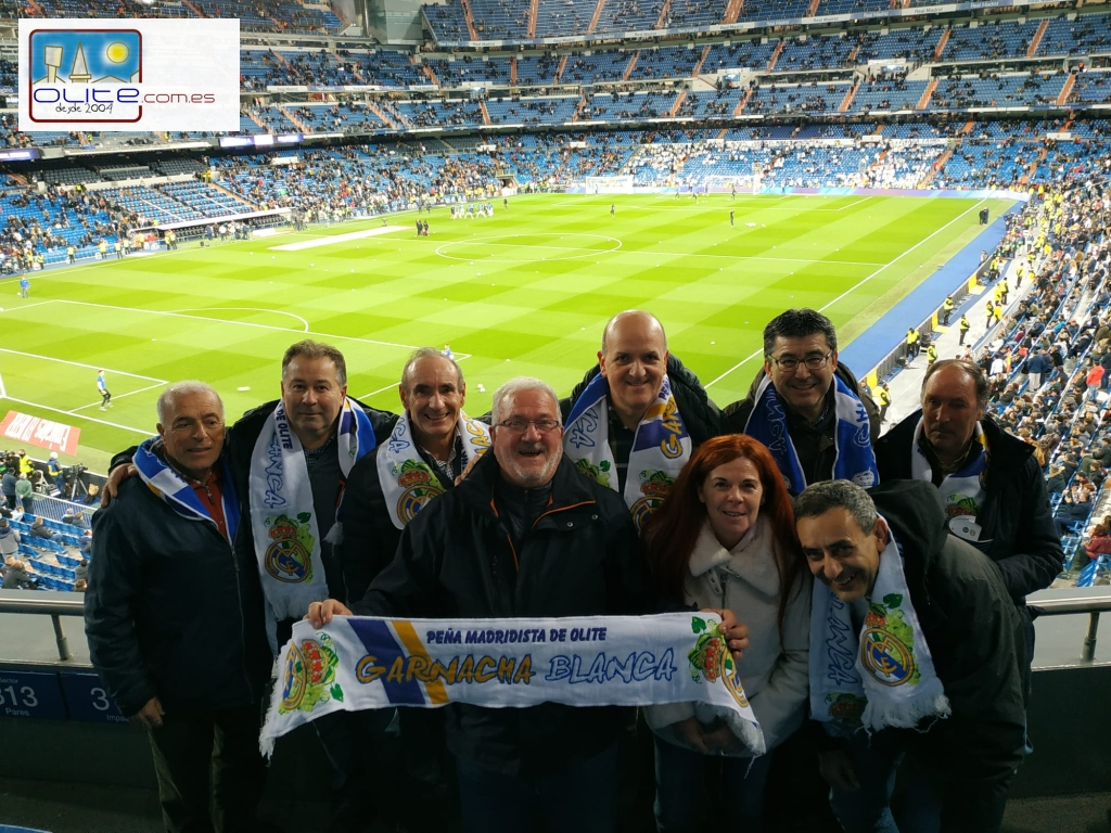 Olite.Viaje inolvidable de la Peña Garnacha Blanca al Santiago Bernabéu