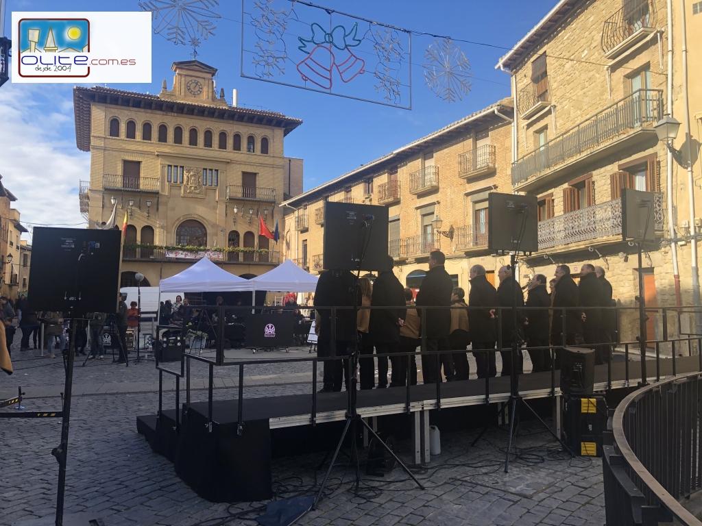 Olite.Euskal Telebista graba en Olite una nueva gala de Ahotsak