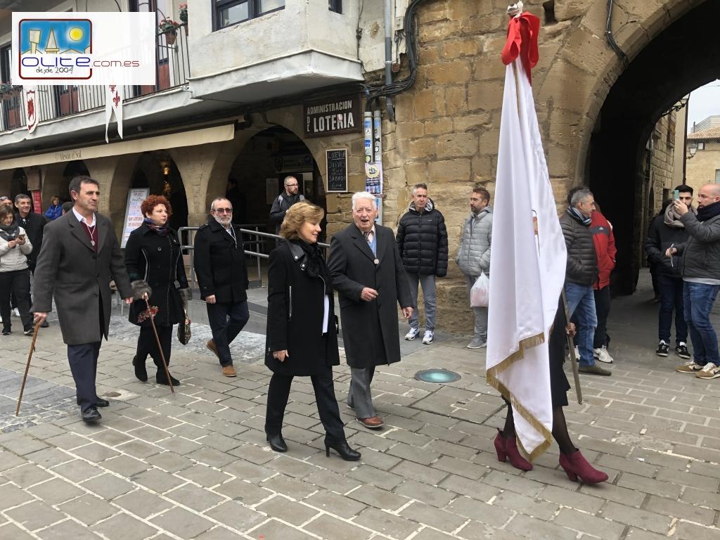 Olite.Olite celebra la Inmaculada en la Iglesia de Santa María por primera vez