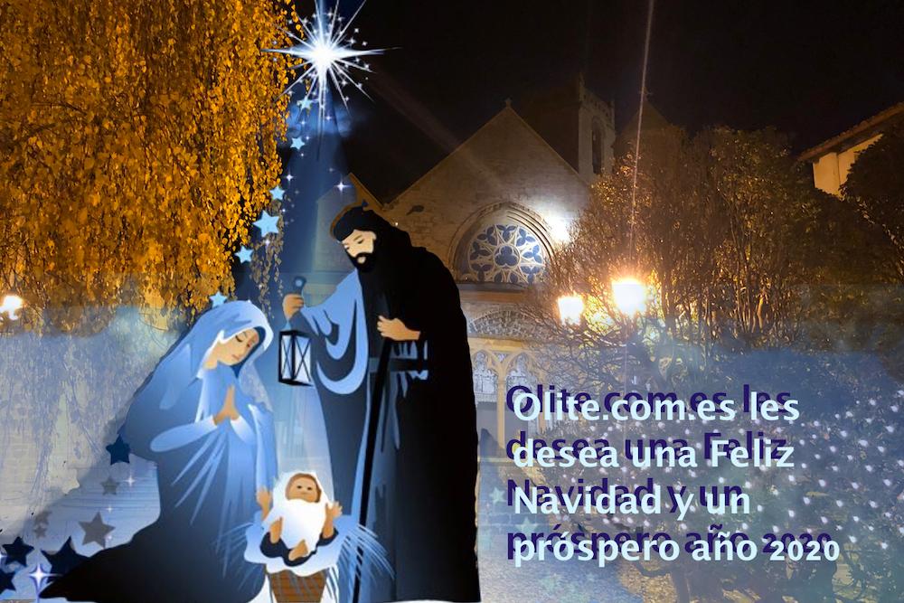 Olite.OLITE.COM.ES les desea a todos unas felices  Fiestas de Navidad y un Feliz Año 2020