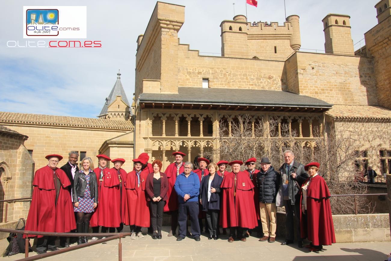 Olite.La Cofradía del Vino de Navarra entrega los premios del Certamen literario
