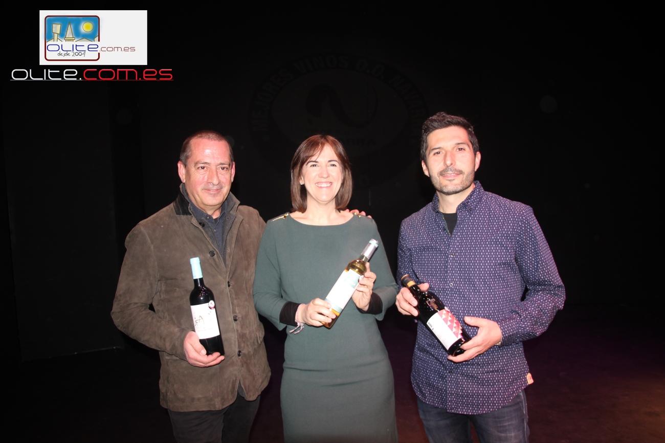 Olite.Bodegas Ochoa, Unsi y Pagos de Araiz recogen los premios a los mejores vinos DO.