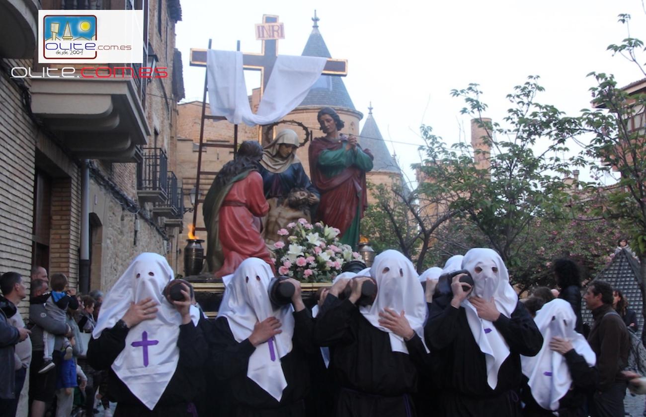 Olite.Suspendidas oficialmente  las procesiones del Domingo de Ramos y del Viernes Santo en Olite