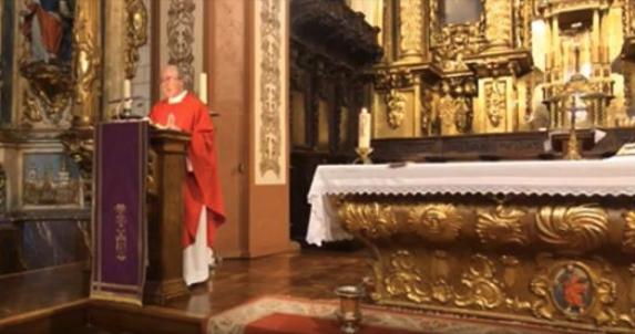 Olite.Eucaristia del Domingo de Ramos