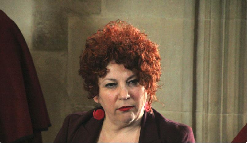 Olite.La Alcaldesa Maite Garbayo convocó a los portavoces de los grupos políticos del Ayuntamiento de Olite, el pasado lunes.