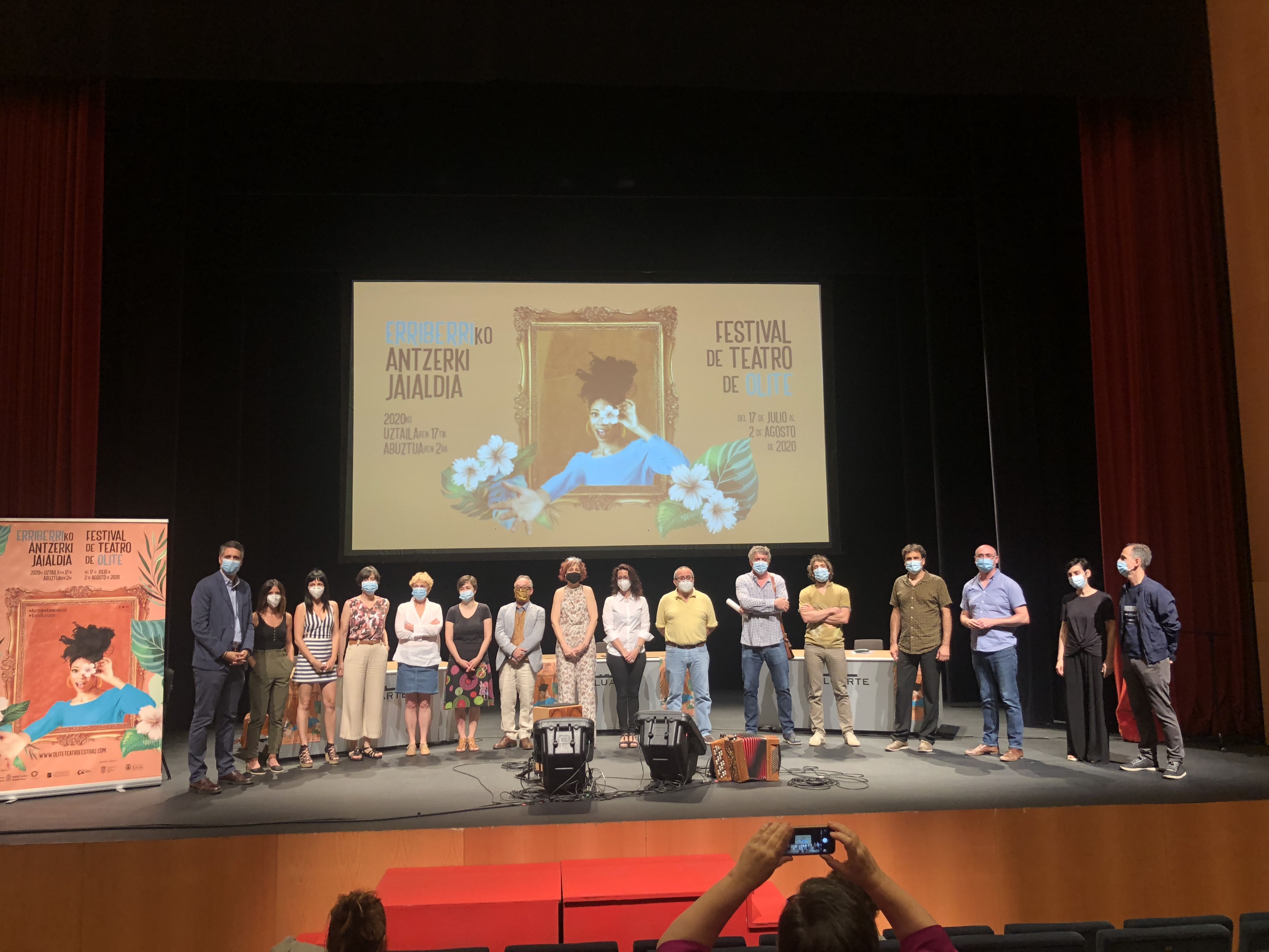 Olite.Presentado el Festival de Teatro de Olite