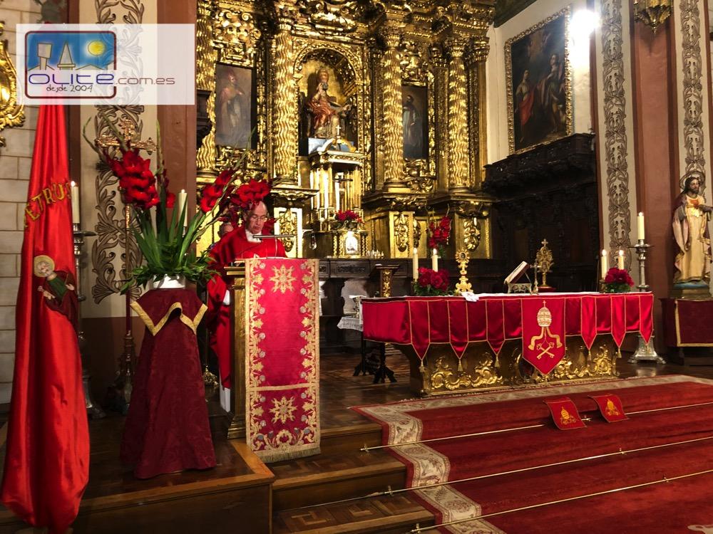 Olite.Olite, celebra su Patrón San Pedro a pesar de la Pandemia