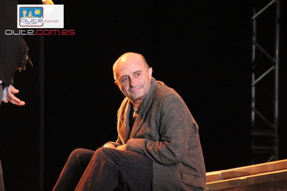 Olite.El gran Pepe Villuela en el Festival de Teatro de Olite