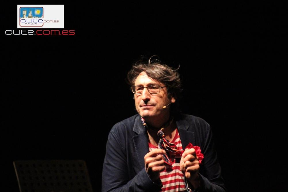 Olite.El Actor Carmelo Gomez protagonista de la obra del sábado en el Festival de Teatro