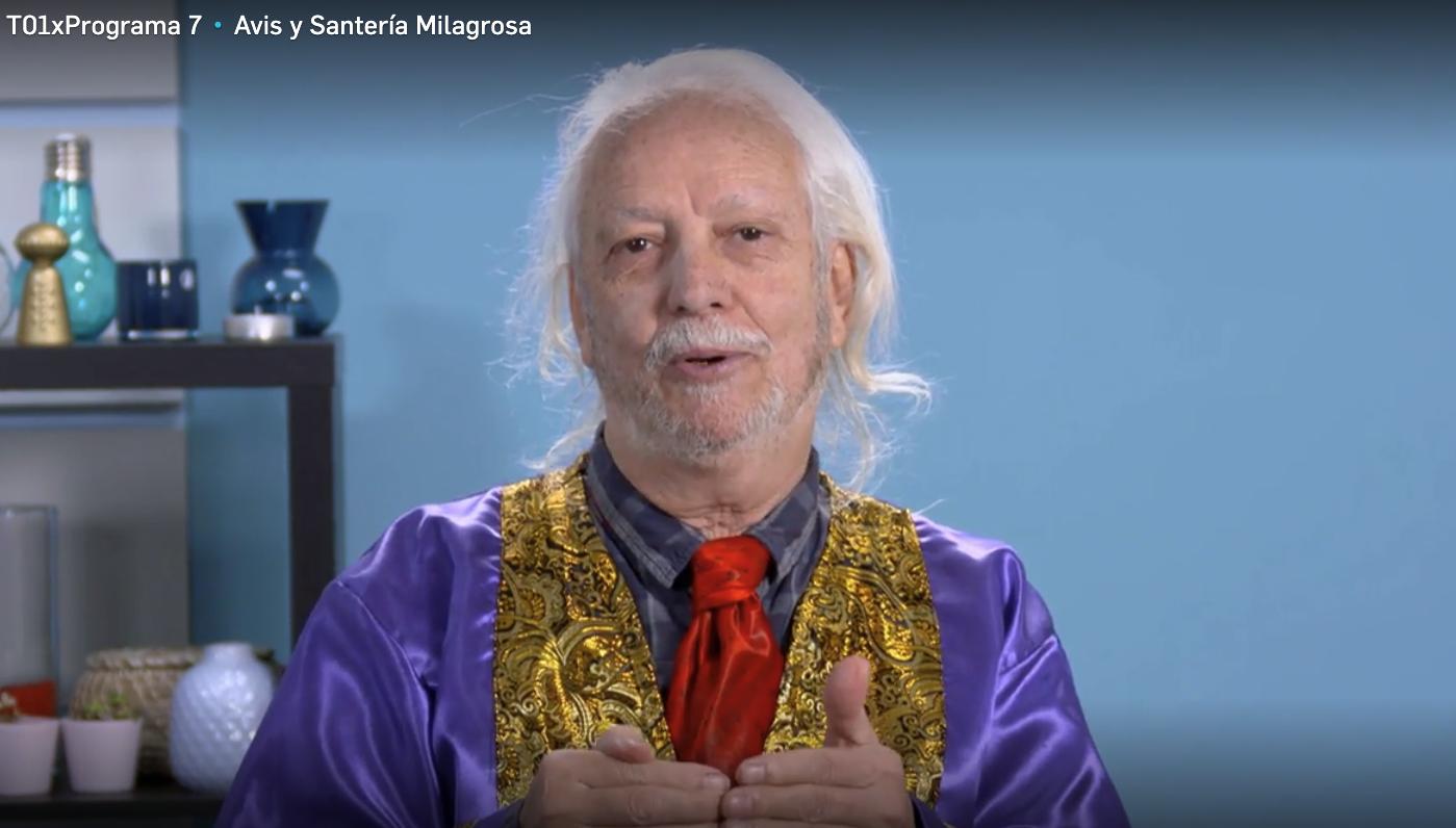 Olite.El Profesor Mercury en el programa JOb Interview de Cuatro