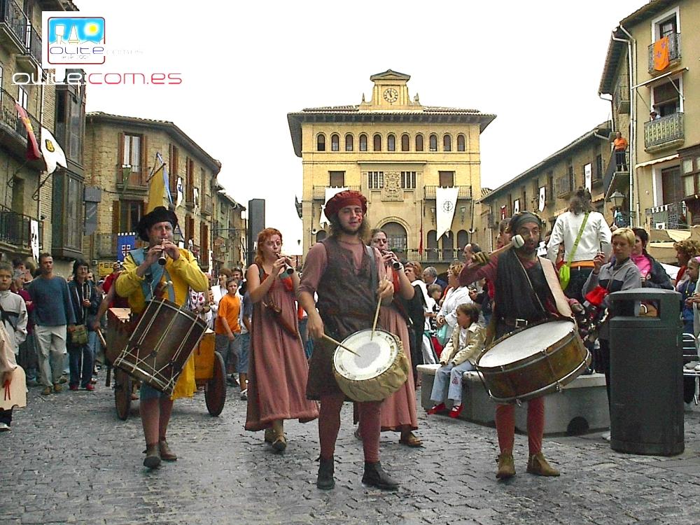 Olite.Este fin de semana se celebrarian las Fiestas Medievales de Olite.