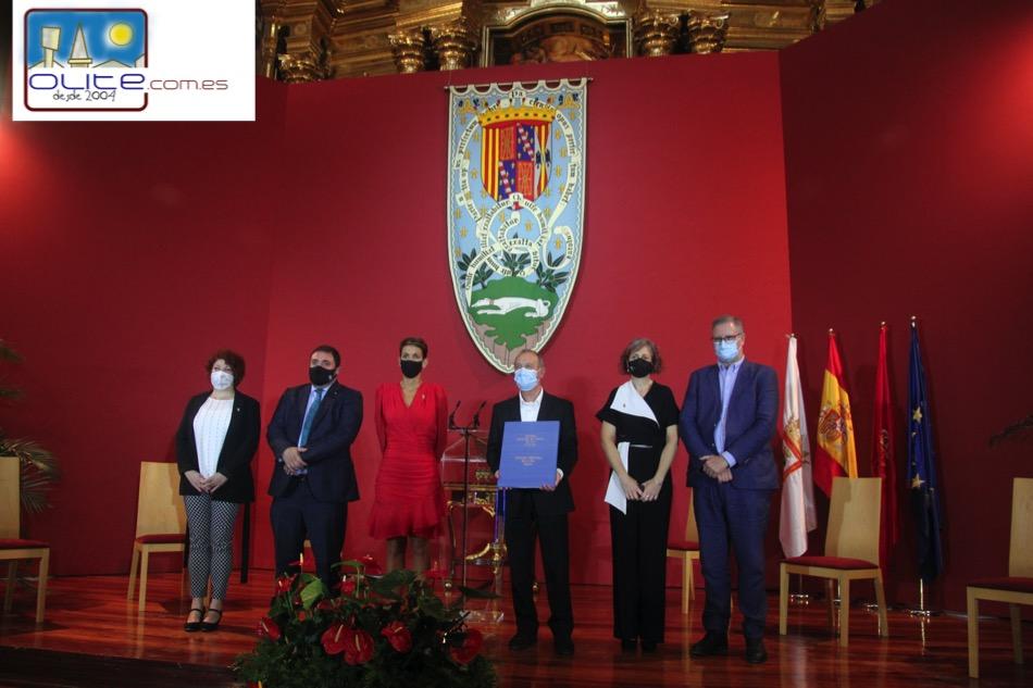 Olite.La Iglesia del Convento de los Franciscanos acoge la entrega del Premio Principe de Viana