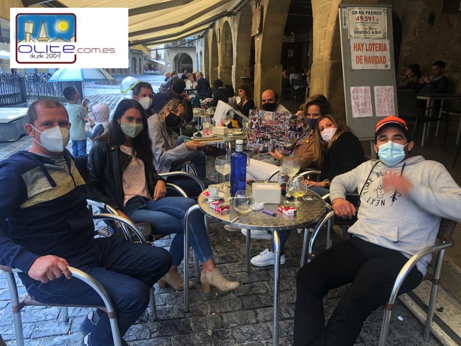Olite.La Cuadrilla de Elena Ruiz celebró su 40 Aniversario
