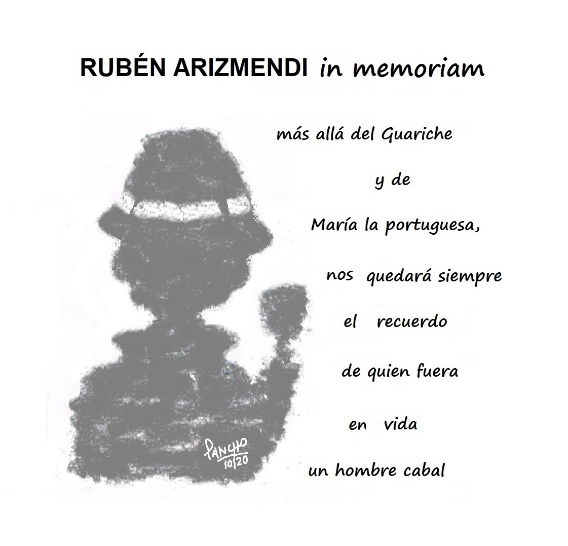 Olite.Ruben Arizmendi in Memorian