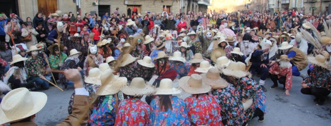 Olite.EL Carnaval Rural en TVE