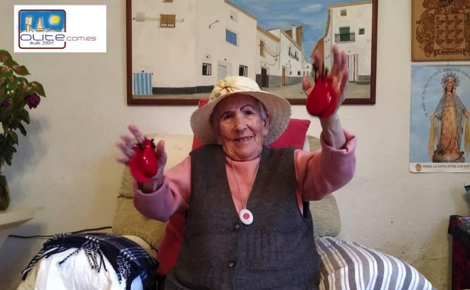 Olite.María Carabantes cumple 100 años