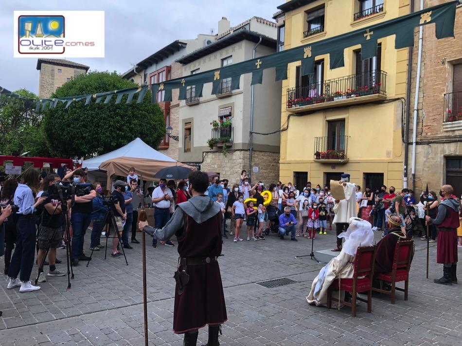 Olite.Olite, celebra el VI Centenario del nacimiento del Principe de Viana.