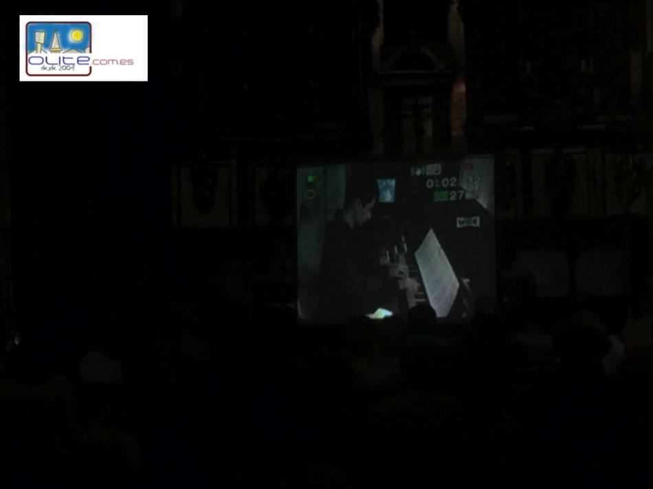 Olite.Alvaro Cia ofreció el Concierto de órgano del Día De San Pedro