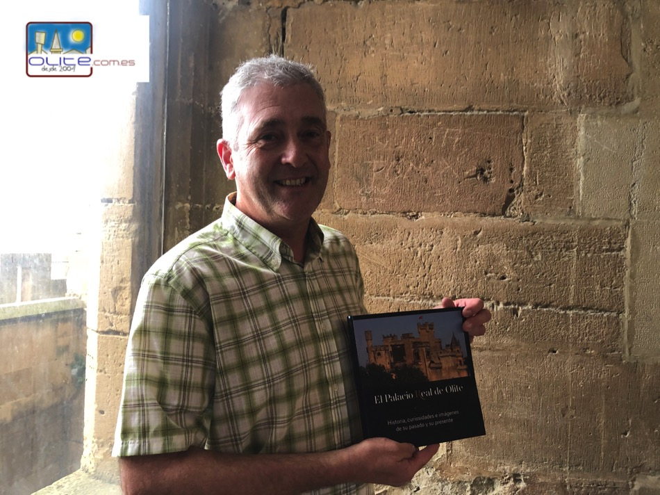 Olite.Alberto Cascante presenta un libro sobre el Palacio de Olite