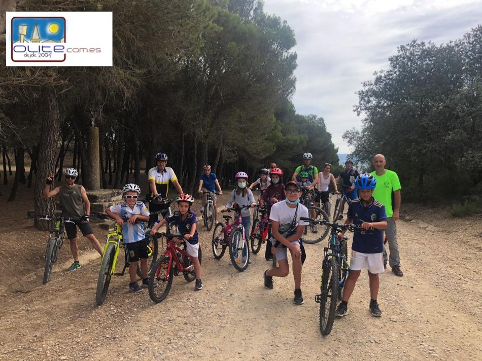 Olite.Olite vuelve a celebrar el Día de la Bici