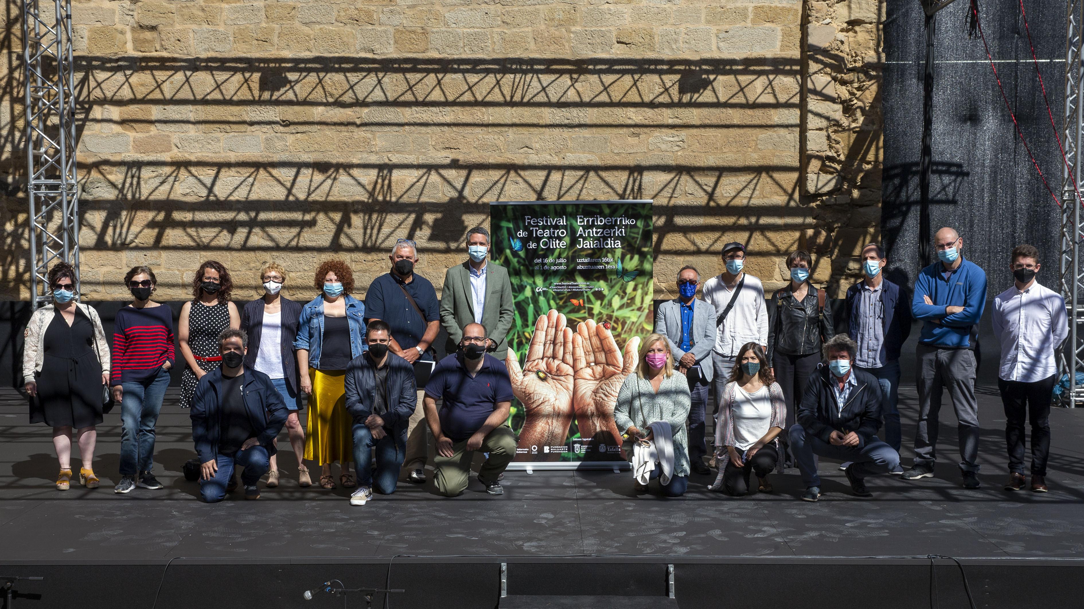 Olite.Este viernes se estrena la 22 Edición del Festival de Teatro de Olite