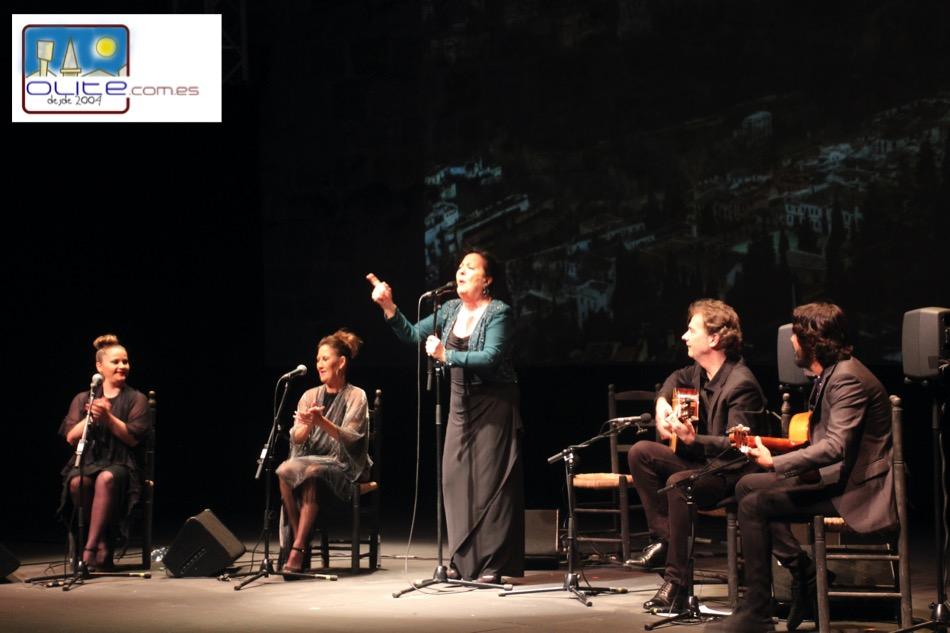 Olite.Carmen Linares estrena el escenario de La Cava