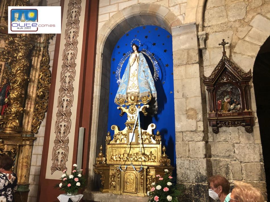 Olite.Olite, celebra su patrona la Virgen del Cólera