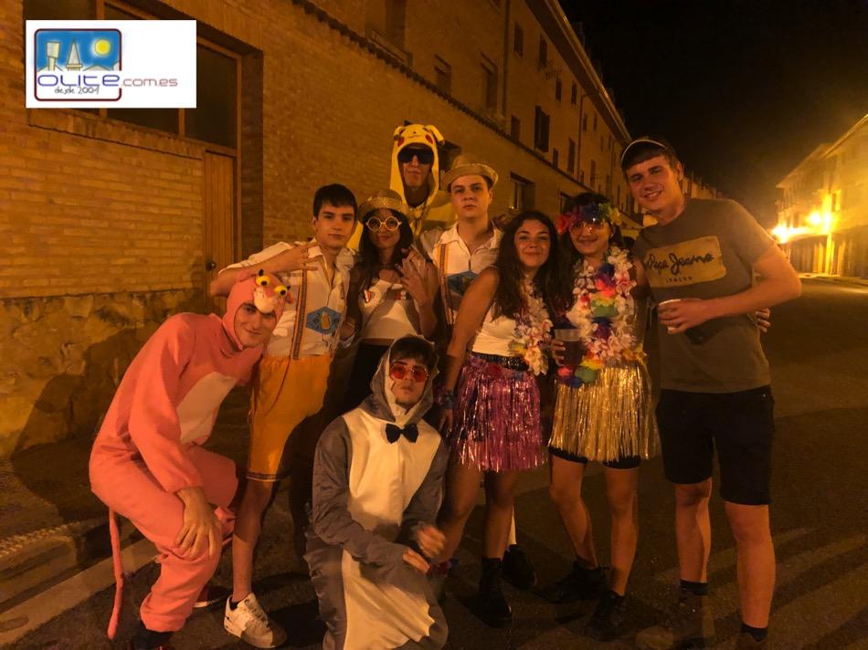 Olite.Carnaval de verano para la Juventud de Olite
