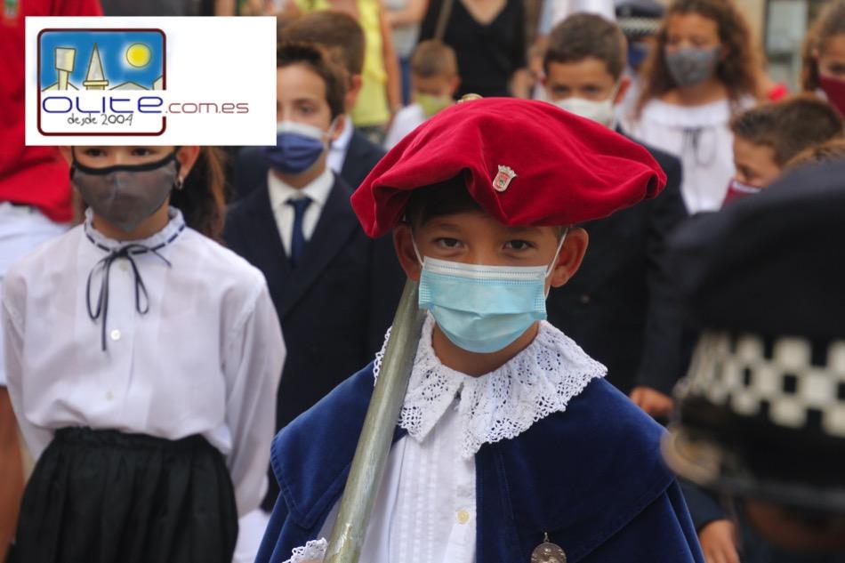 Olite.El Ayuntamiento Txiqui ha presidido la Eucaristia Mayor del Día del Niño