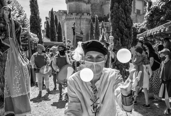 Olite.Marian Jaurriteta se lleva el concurso de Fotografía de los Medievales pasados