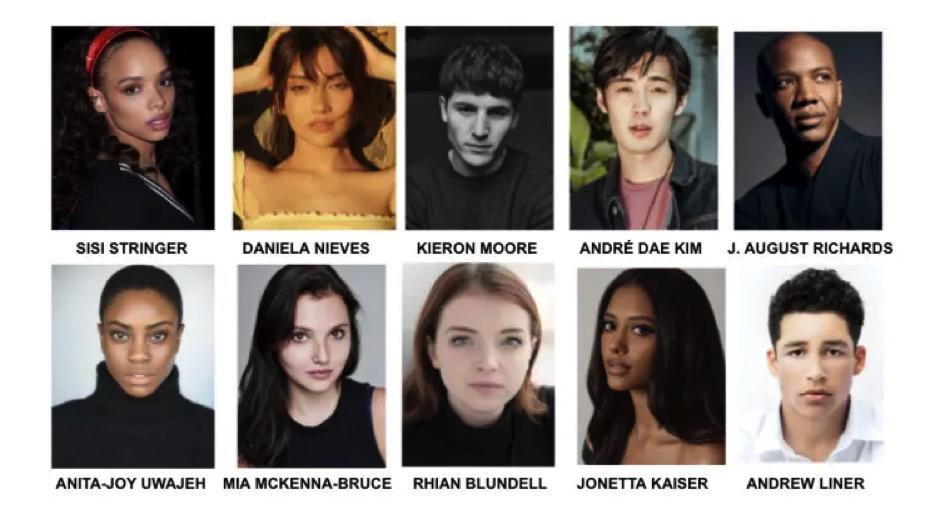 Olite.Continua el rodaje de la Saga Vampire Academy. Estos son los actores principales.
