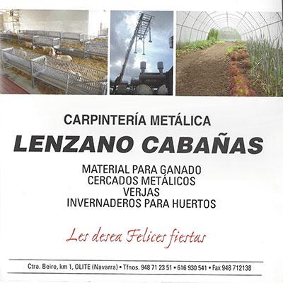 LENZANO Y CABAÑAS
