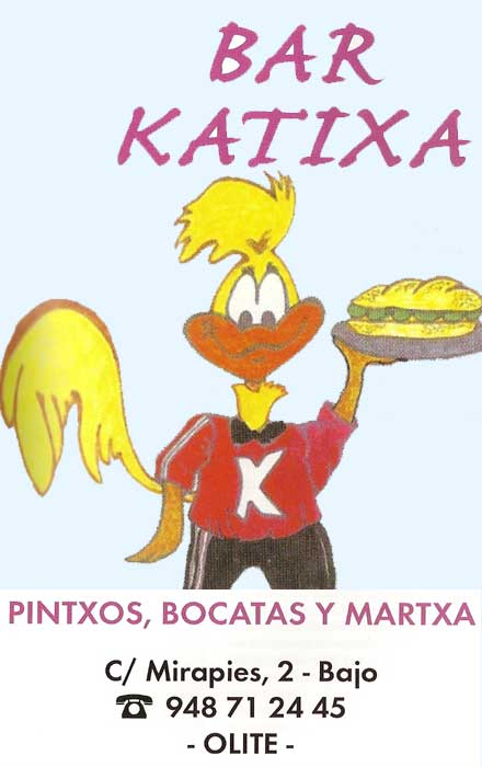 BAR KATIXA