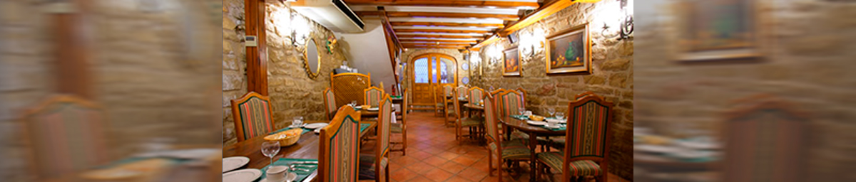 Restaurante Casa del Preboste de Olite. Olite