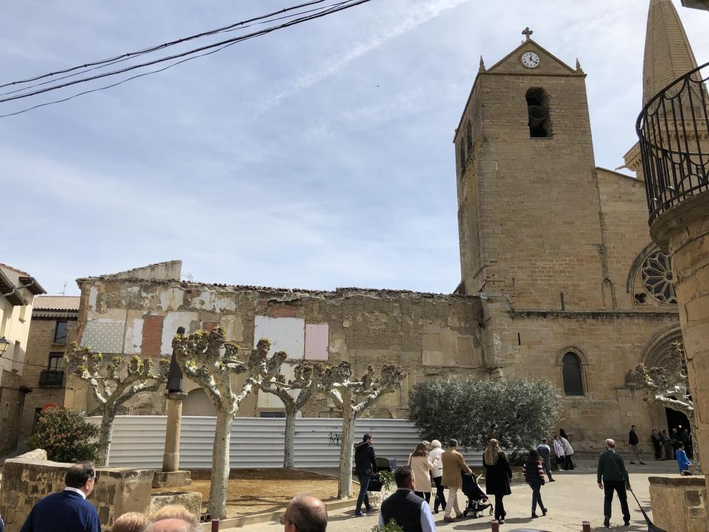 Iglesia de San Pedro . Olite