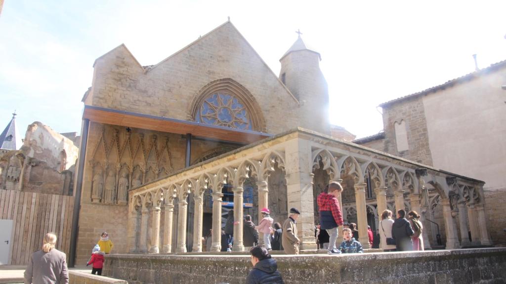 Iglesia de Santa Maria. Olite